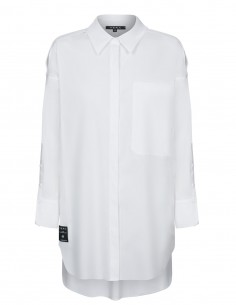 Długa bluzka koszulowa