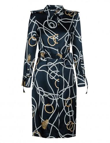 Sukienka z długim rękawem w zestawie...