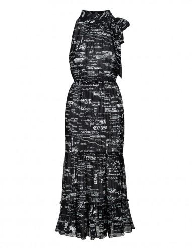 Sukienka z odkrytymi ramionami i...