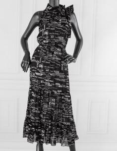 Sukienka z odkrytymi...