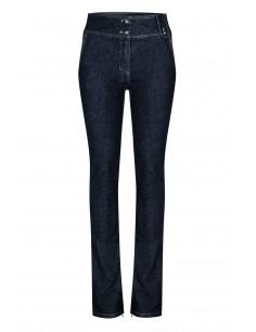 Jeansy z szerokim pasem