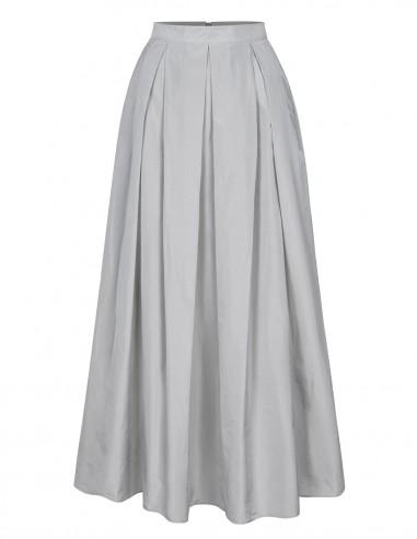Długa spódnica z kieszeniami 2614B1
