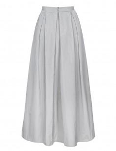 długa spódnica z draperią