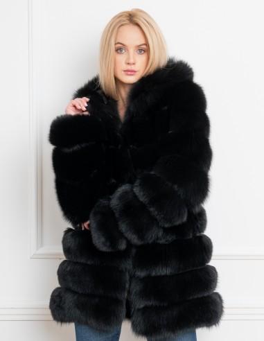 Natural fur coat 2559F2